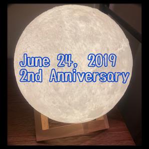 月の光2周年!