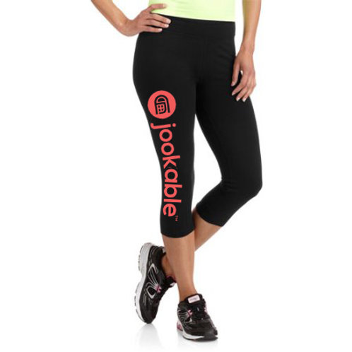 jookable™ leggings - Danskin Now Women's Dri-More Capri