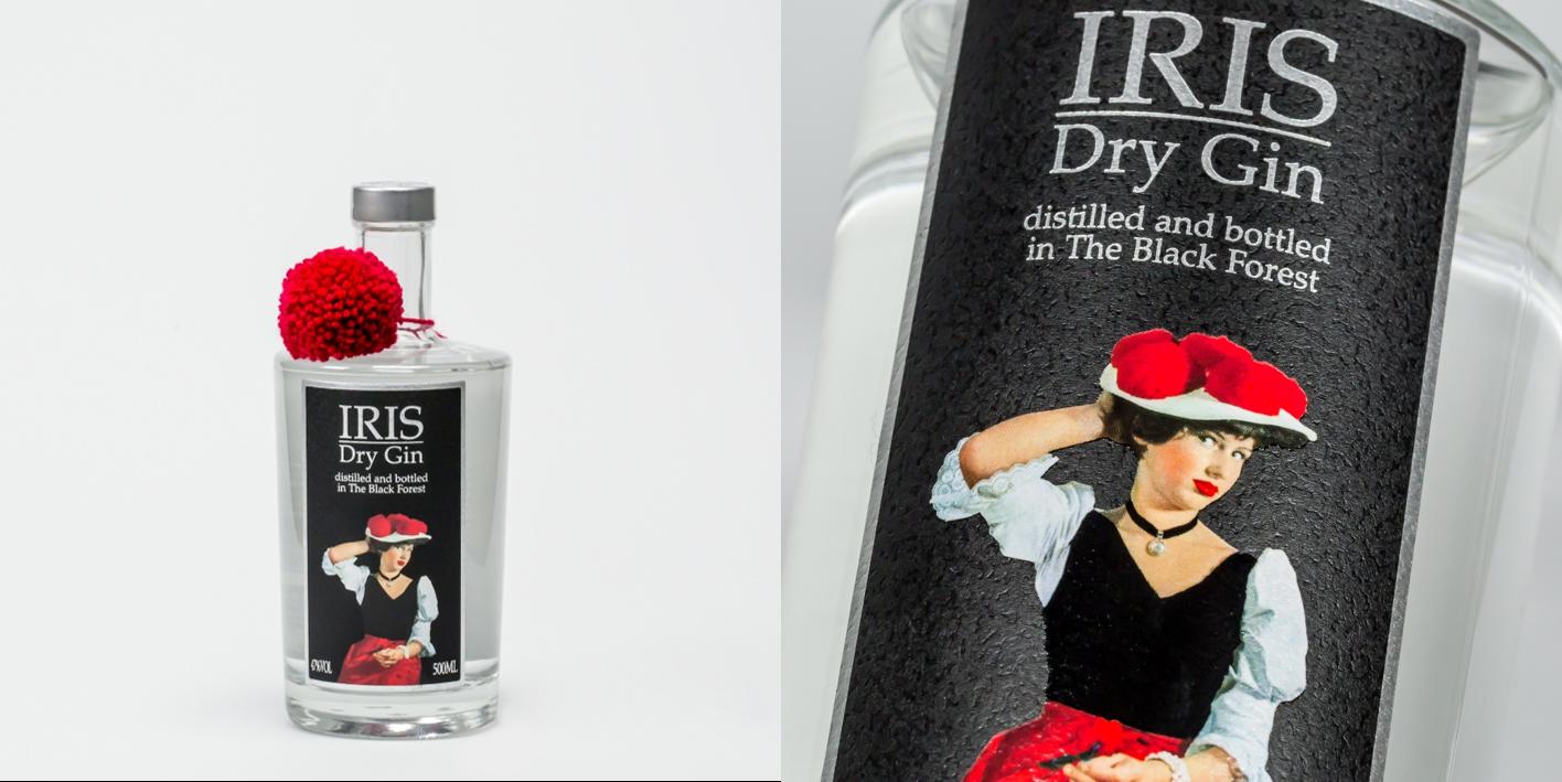 "Scholerhof: ""IRIS"" Dry Gin"