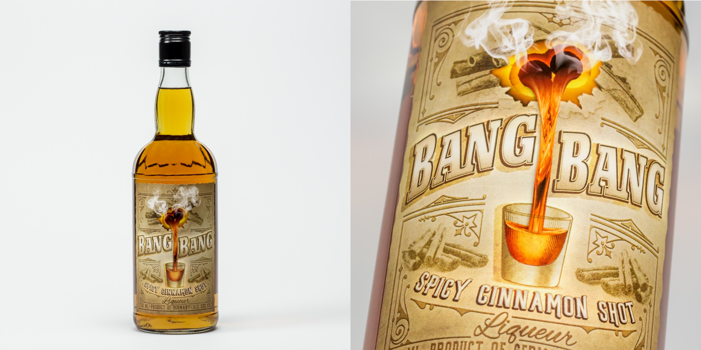 Bang Bang Spicy Cinnamon Liqueur