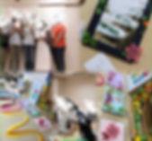 カラフル 北神戸 イベント ハンドメイド教室 高齢者 ママ ベビー キッズ お祭り 教室 ペーパークイリング アクセサリー 男前雑貨