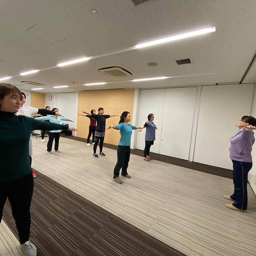 【中止】shoji式姿勢矯正エクササイズ体験教室(Mama's cafe)