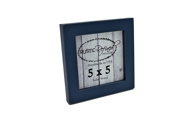 "5x5 1"" Gallery Picture Frame - Navy Blue"