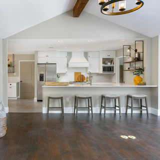 Remove Walls for an Open Concept Family Room & Kitchen