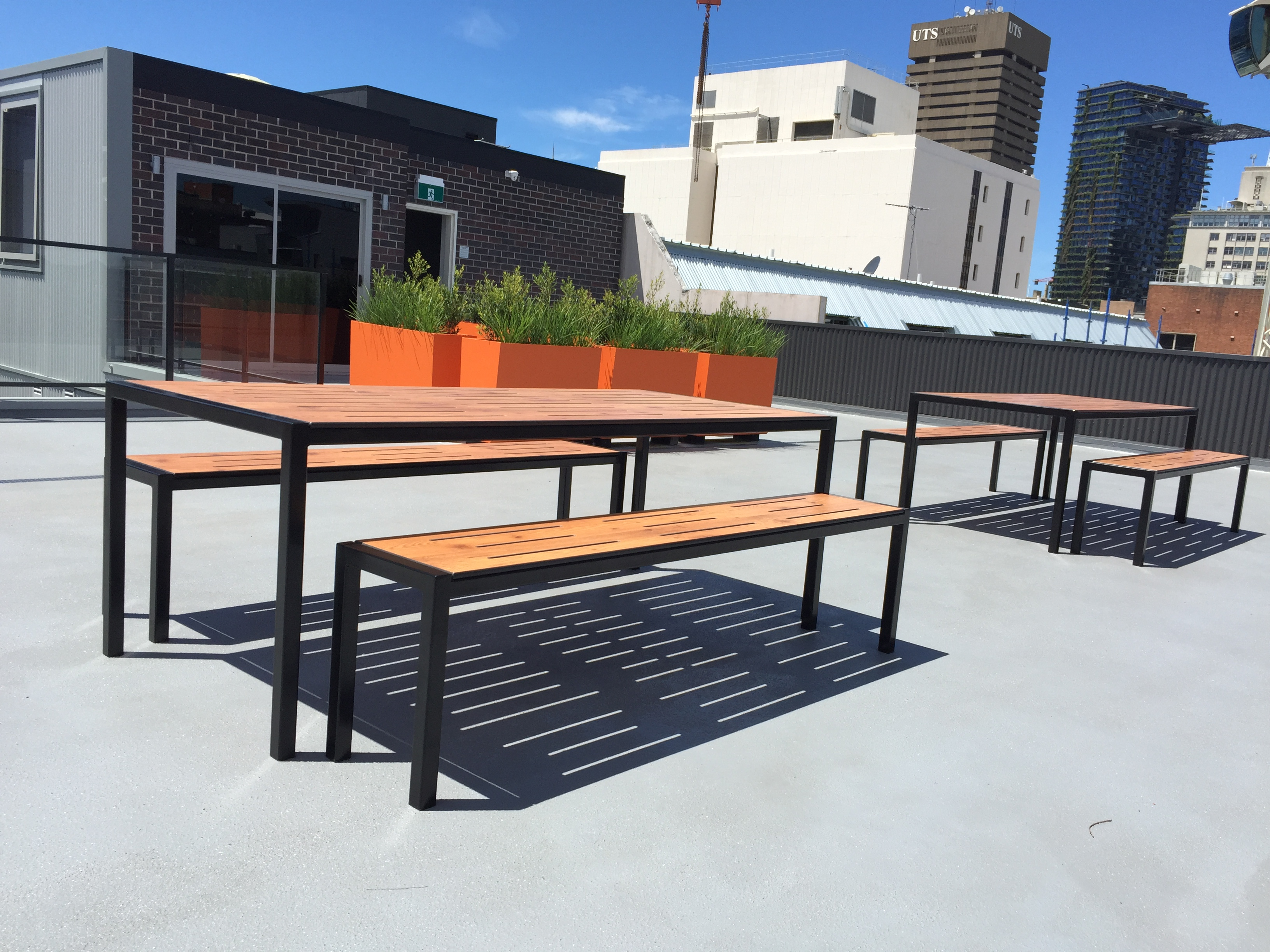Outdoor Tables 1_Wattle Lane Roof