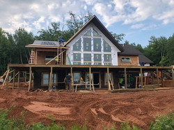Golden Eagle Log Home Exterior Window