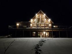 Exterior Winter Nightime