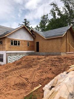 Golden Eagle Custom Log Home