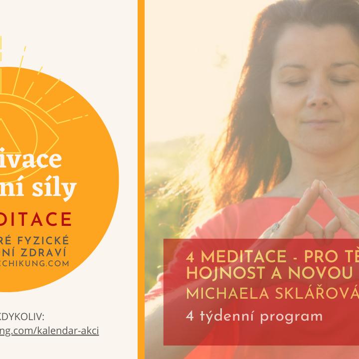 4 on-line meditace s Michaelou - pro zdraví, vztahy, hojnost a novou vizi