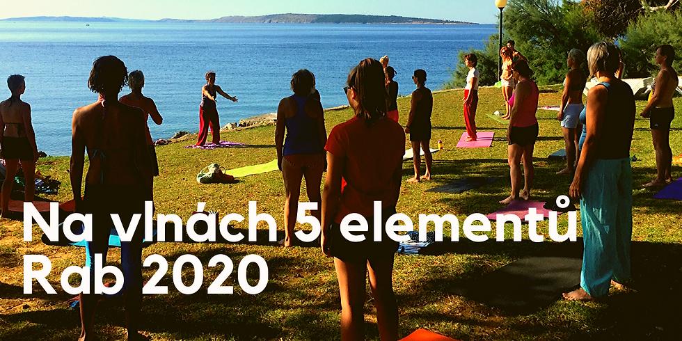 Na vlnách 5 elementů  - dovolená na Rabu 2020