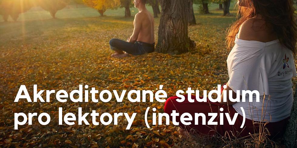 Akreditované studium (200 vyuč. hodin) - intensiv