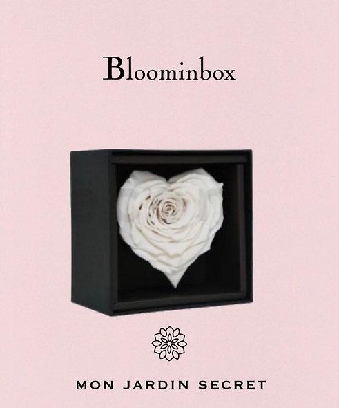 Bloominbox cœur blanc