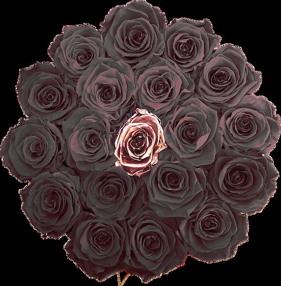 FlowerBox / Couleur Uni + Une au Centre  / Moyenne