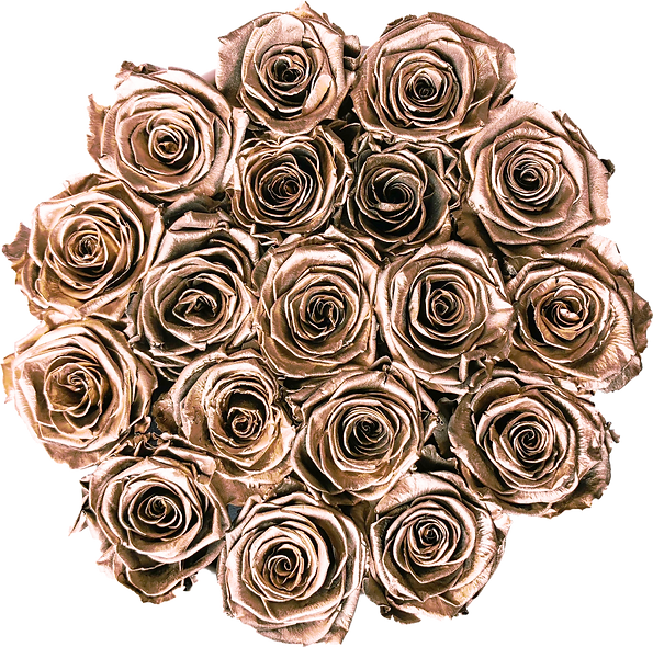 FlowerBox / Or Rose / Moyenne