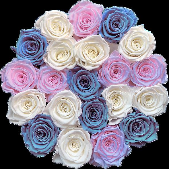 FlowerBox / Un Mélange De 3 Couleurs Hors Argent-Or / Moyenne