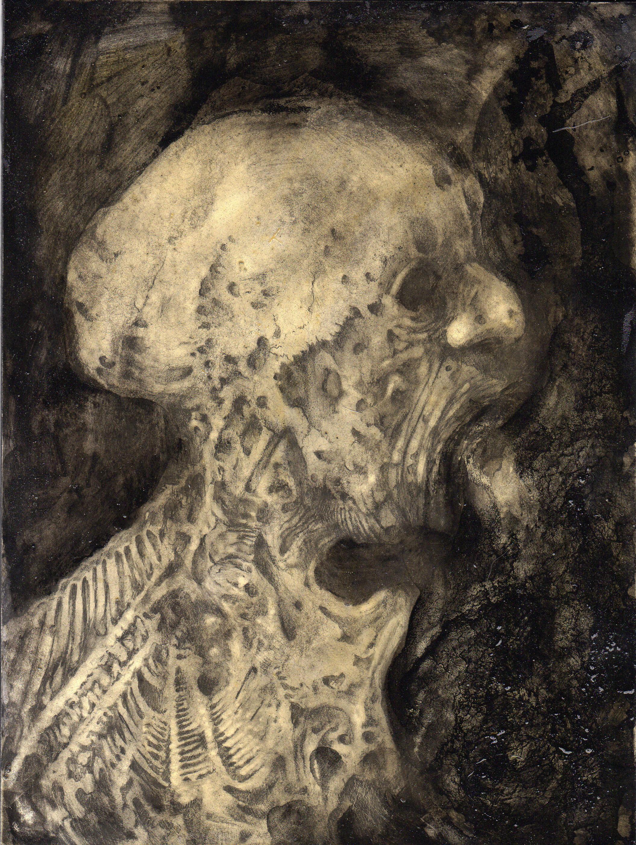 El visitante 1 (Huesos)