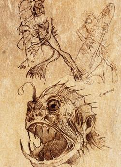 Dagón boceto