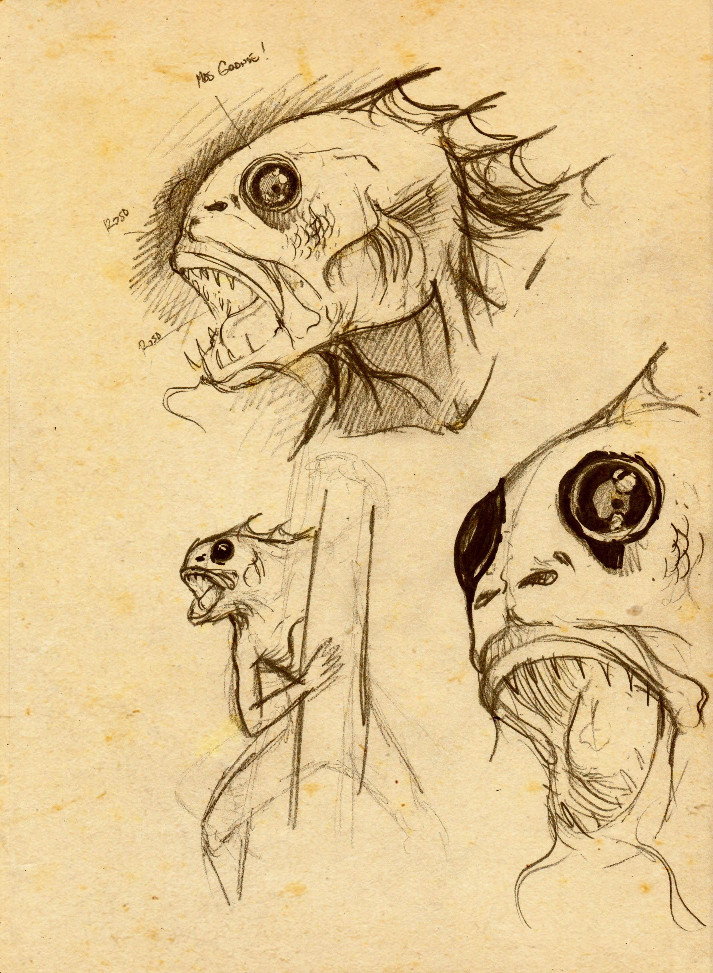 Dagón boceto 2