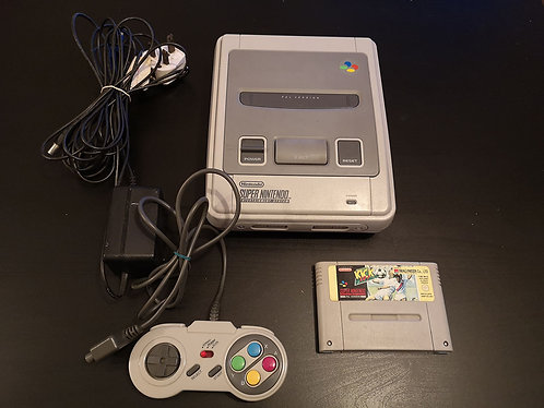 Super Nintendo Snes PAL UK unboxed
