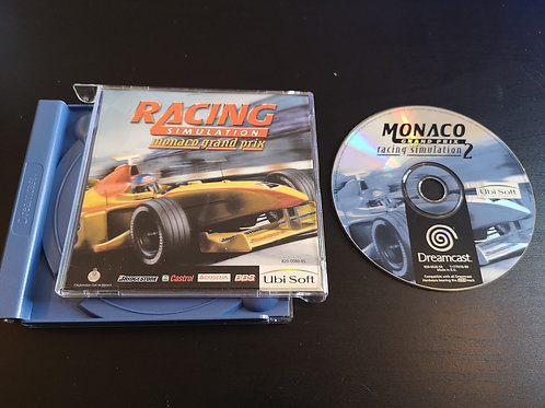 Racing Simulation Monaco Grand Prix