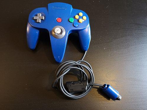 Nintendo 64 official blue Gamepad Controller