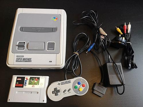 Super Nintendo Snes PAL UK unboxed