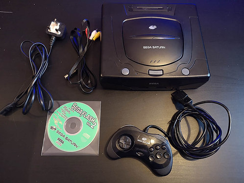 Sega Saturn Unboxed