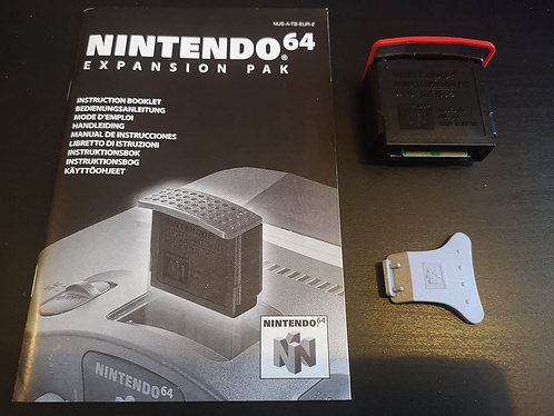 Official Nintendo 64 Espansion pak 4MB