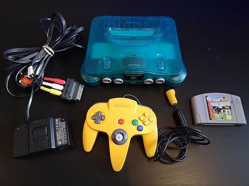 Nintendo 64 PAL + ISS 64