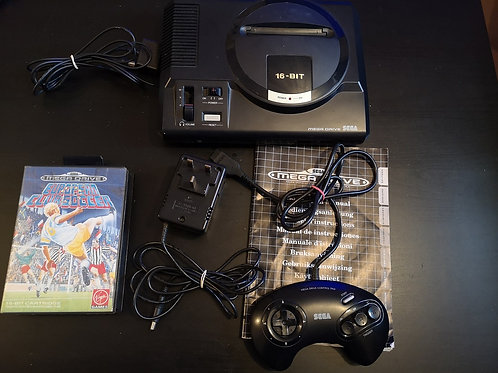 Sega Mega Drive PAL + game
