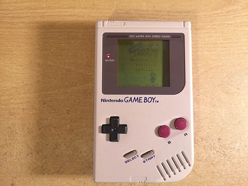 Nintendo GameBoy Original 1989 DMG-01 gray PAL