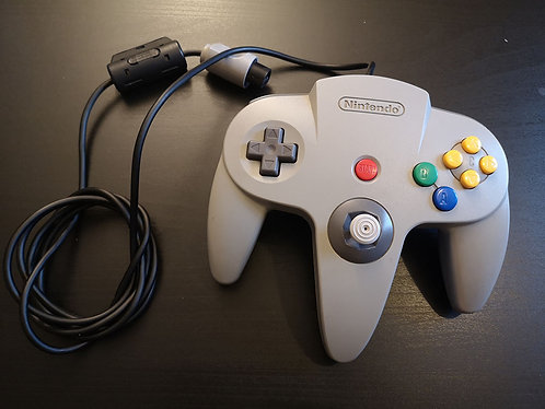 Nintendo 64 official gray Gamepad Controller