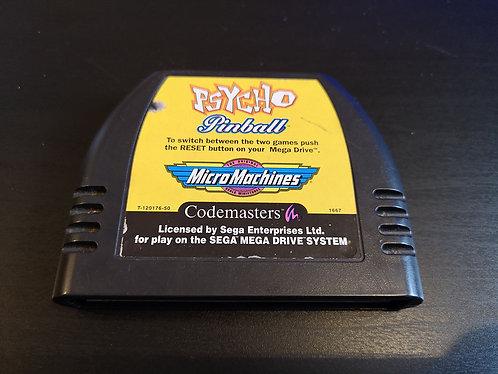 Psycho Pinball and Micro machines