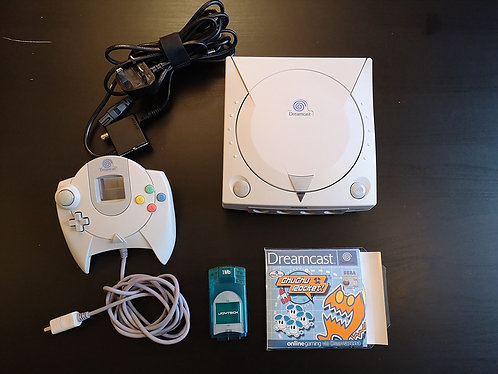 Dreamcast unboxed + controller