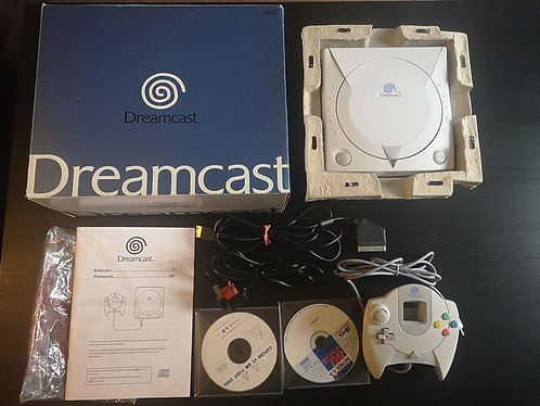 Dreamcast BOXED + controller