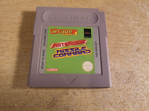 Arcade Classic Asteroids Missile Command