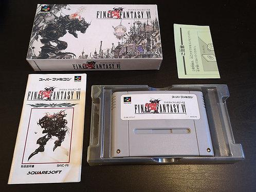 Final Fantasy VI Japan NTSC