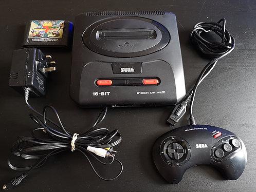 Sega Mega Drive II PAL + game