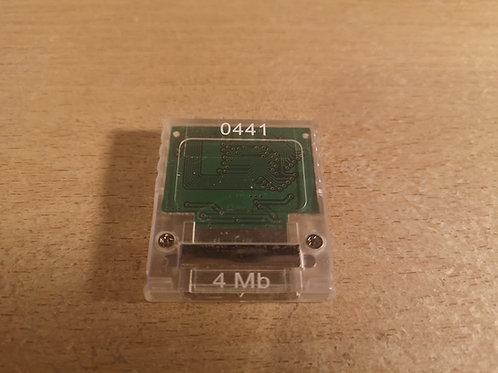 Memory Card 4 Mb for GameCube