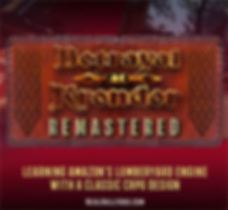 betrayal at krondor remastered neil hallford technical demo eric elick composer