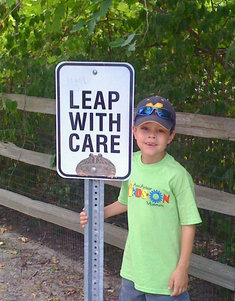 """""""Leap With Care"""""""