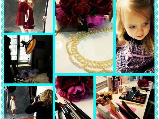 Little ladies creative shoot!