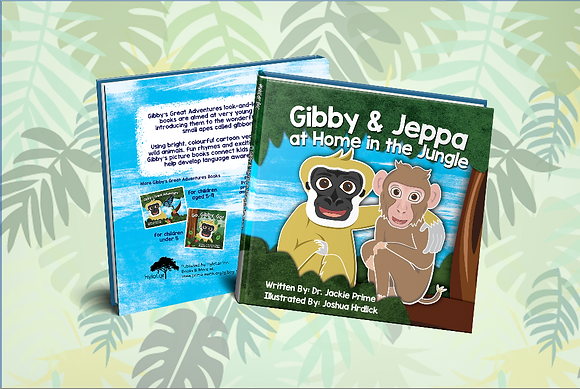 Gibby and Jeppa at Home in the Jungle