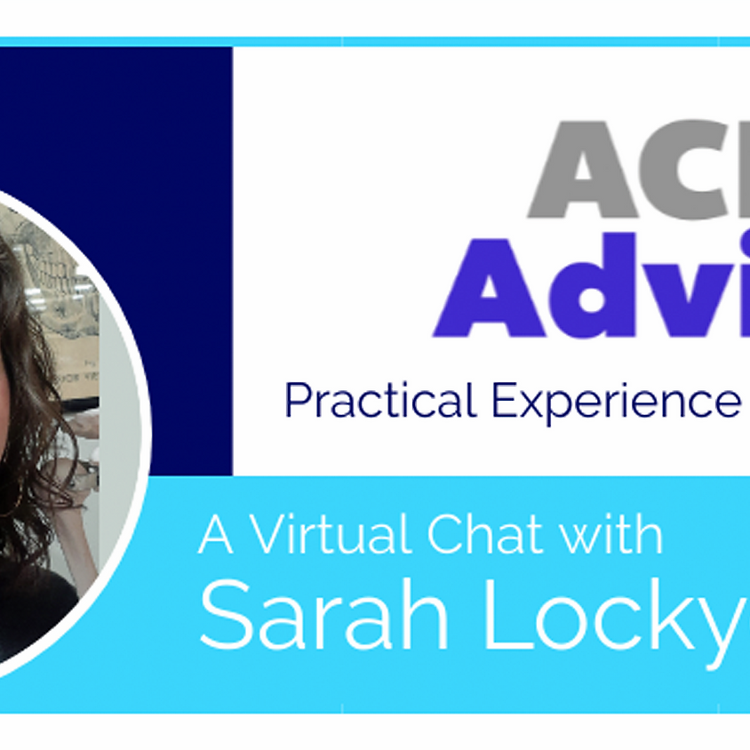 ACE Office Hours with Dr. Sarah Lockyer
