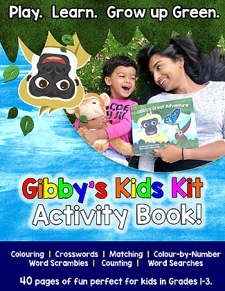 Gibby's Great Adventures Kids Kit Activity Book