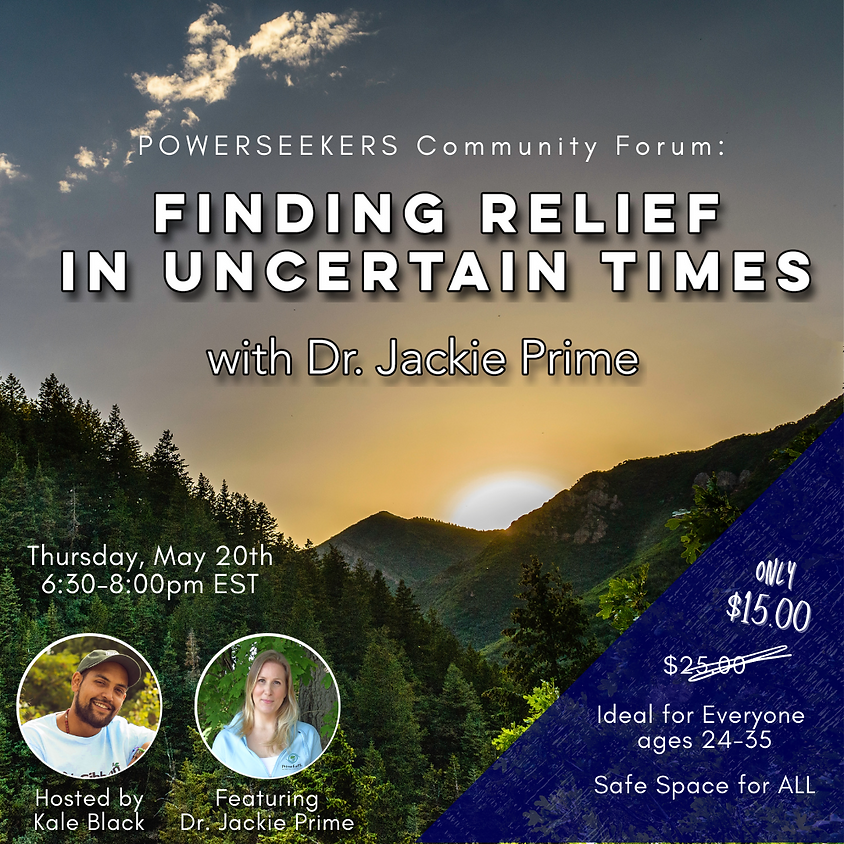 Finding Relief in Uncertain Times For Everyone Ages 24-35