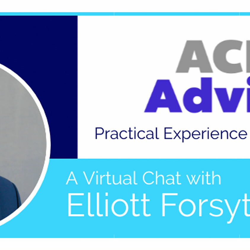 ACE Office Hours with Elliott Forsythe, MA