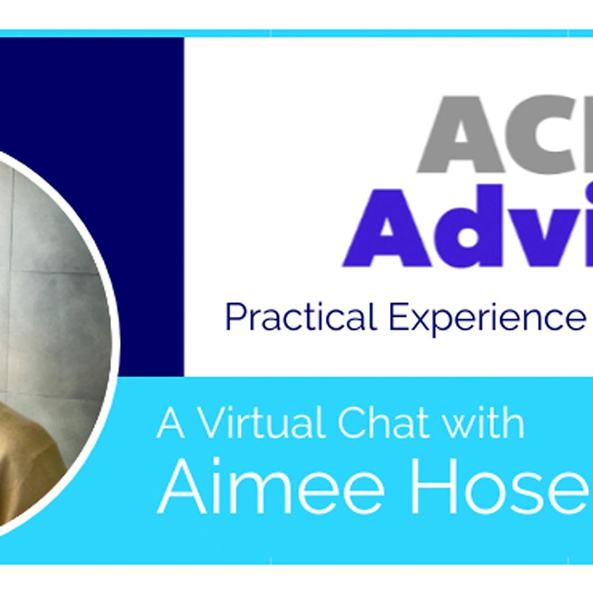 ACE Office Hours with Dr. Aimee Hosemann