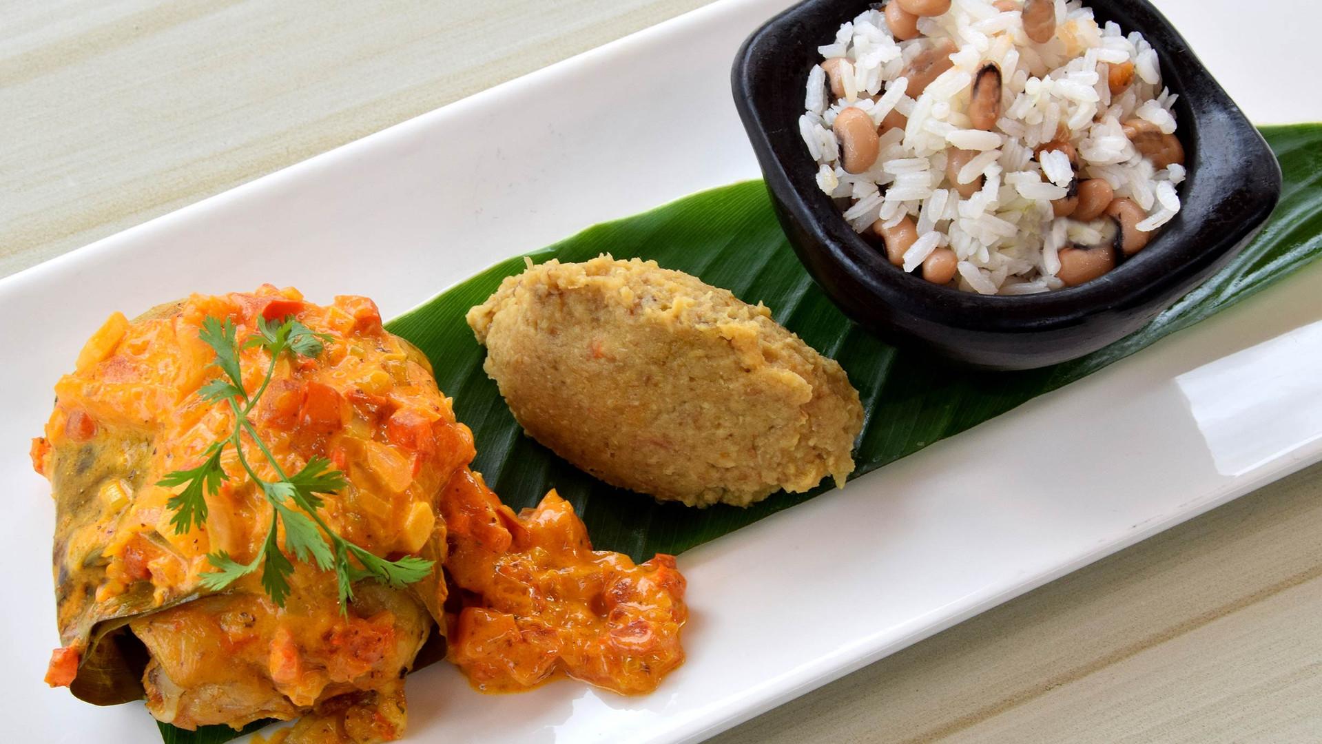 pollo-con-salsa-caribeña-cocinado-en-ho