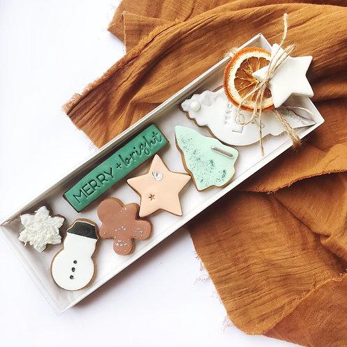 MERRY + Bright Cookie Box